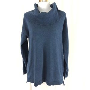 89th + Madison Womens Sweater Tunic Cowl Neck